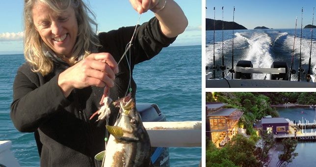 Blue cod, gurnard, snapper, terakihi, catch it yourself and we'll cook it! Spend a few hours on a fishing excursion in the calm waters of the inner Queen Charlotte sound and stay two nights at the Bay of Many Coves with dinner and breakfasts included, Ex Picton.