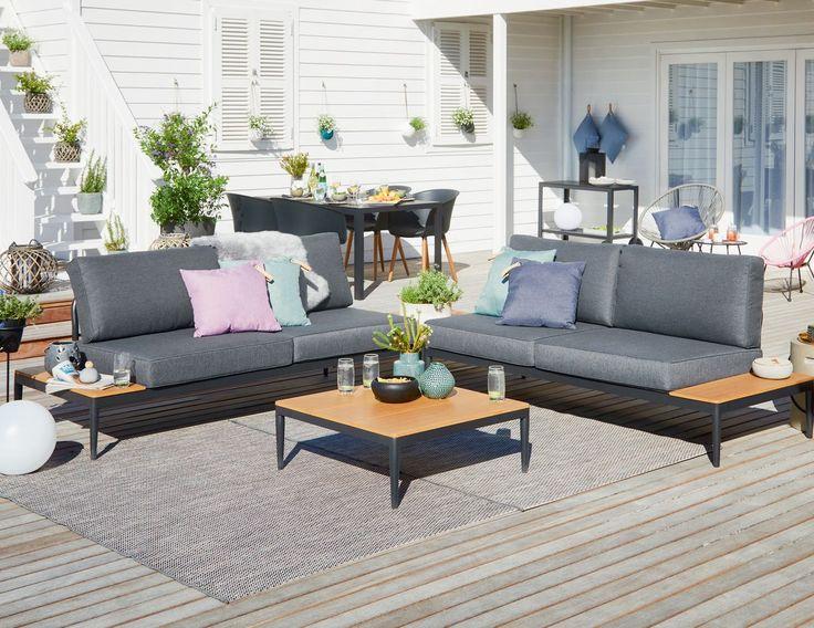 LEVANGER loungeset - strak en modern | JYSK - alles voor in je tuin