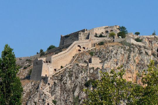 VISIT GREECE| Castle of #Palamidi #Nafplion #Argolida #greekcastles