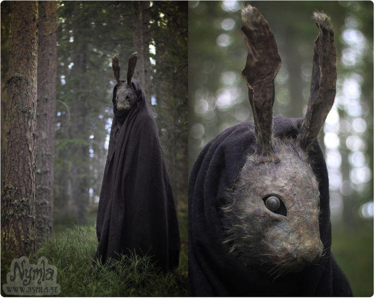 Creepy Rabbit Mask by Nymla.deviantart.com on @DeviantArt