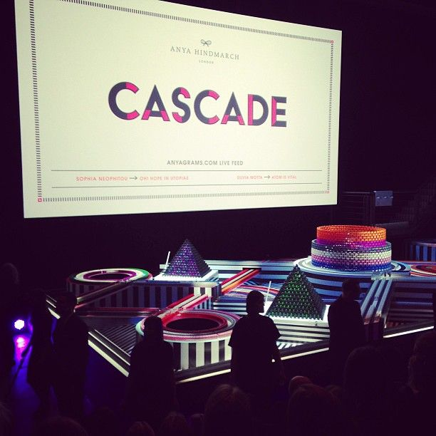 Cascade - Anya Hindmarch    Photo by grazia_live