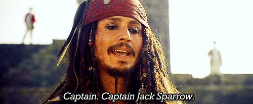 Pirates of the Caribbean: The Curse of the Black Pearl. HA! Love this scene :)