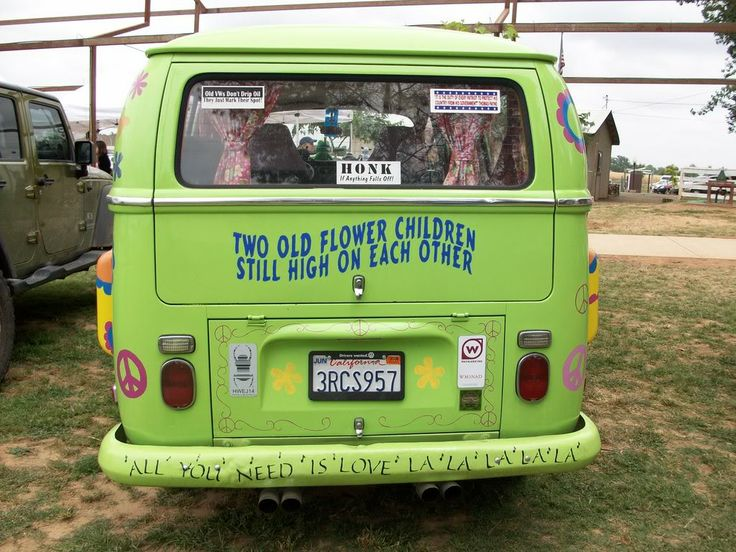 hippie van retirement home