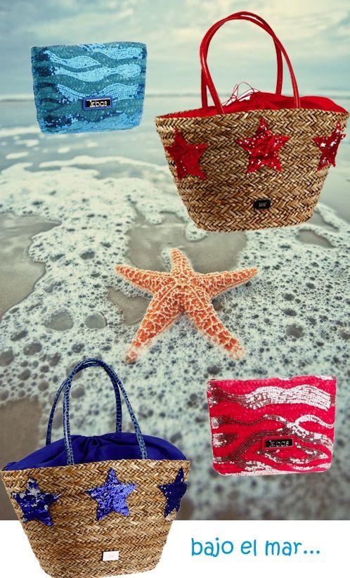 Bajo el mar... #capazo, #panier, #basket, #verano, #summer, #été