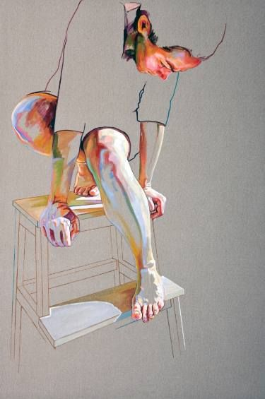 "Saatchi Art Artist Cristina Troufa; Painting, ""Pedestal - SOLD"" #art"