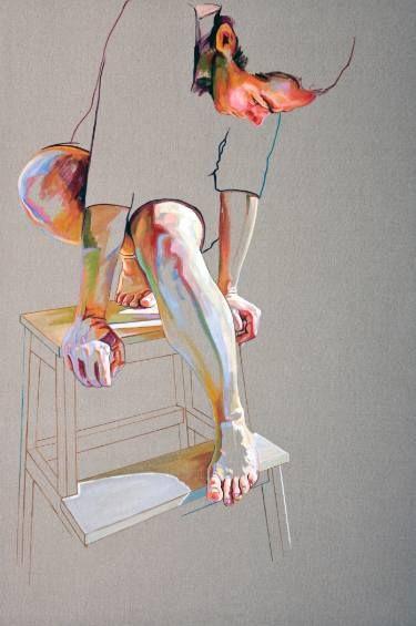 "Saatchi Art Artist Cristina Troufa; Painting, """"Pedestal"" - SOLD"" #art"