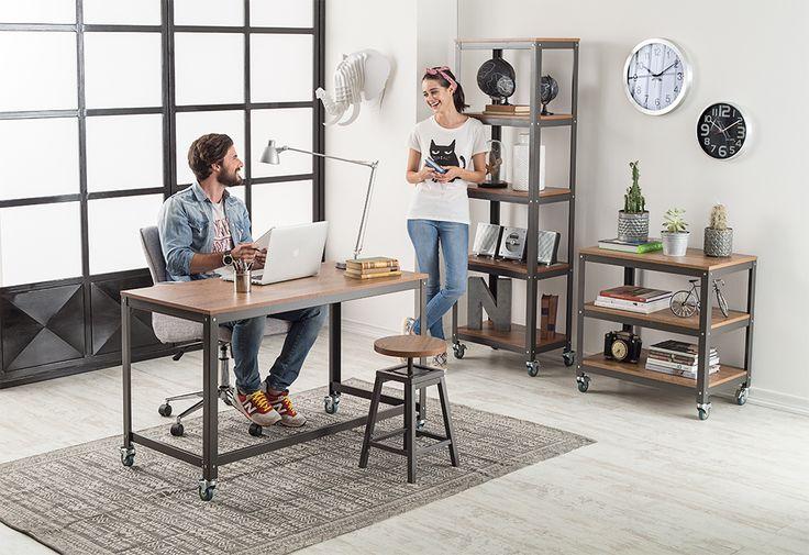 Para los que aman el diseño clásico y minimalista. #Muebles #Easytienda #Decoración #Combinaciones