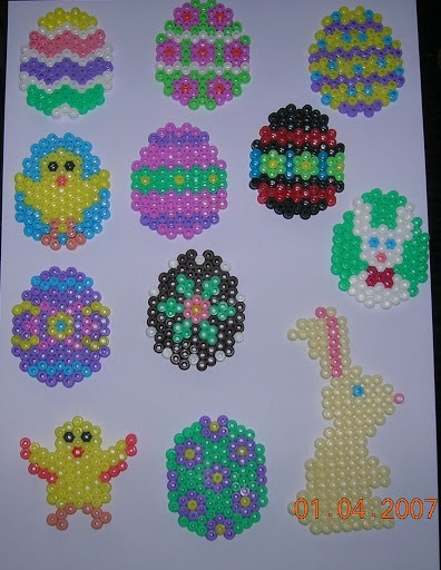 Ostern hama beads
