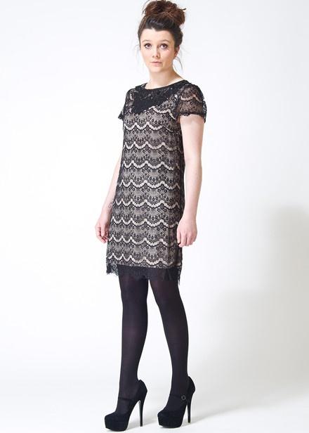 Sugarhill Boutique Evelyn Dress in Black