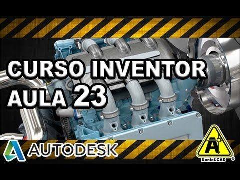 Aula 23 | Inventor 2013 | Arredondamento, Chanfro e Corte - Chapas - YouTube