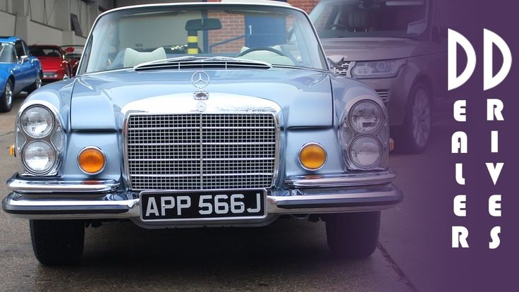 Mercedes-Benz 280 SE 3.5 Cabriolet - DD Classics Dealer Drives