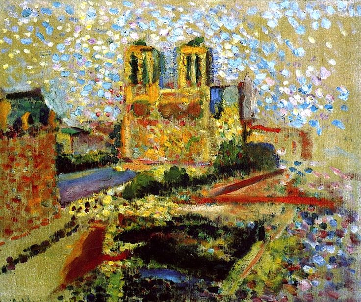 Notre-Dame / Henri Matisse - 1904-1905