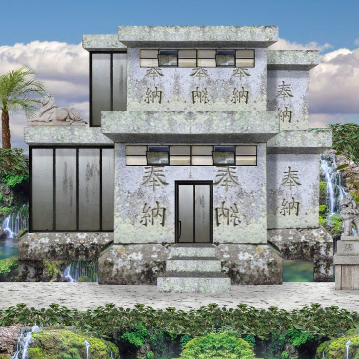 '#annsofihouse #house #architecture #100neybers #annsofiasian #Asian #asianhouse' created in #neybers