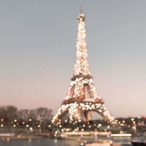 Paris all lit up