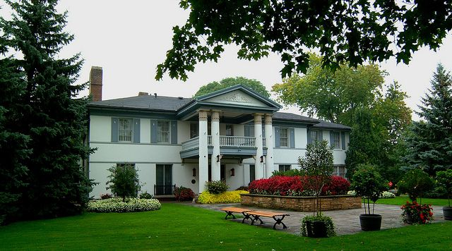 The Historic Heintzman House in the City of Markham, a beautiful spot for special events and #weddings.