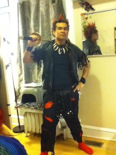 "How to make a Hook: ""Rufio"" costume"