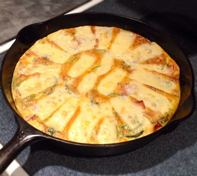 Zucchini Frittata: Right Now In A Hot Pan | Wonkette