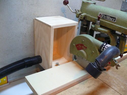 "1956 DeWalt MBF 9"" Radial Arm Saw #7: (Less) Dust in the Wind - by NBeener @ LumberJocks.com ~ woodworking community"