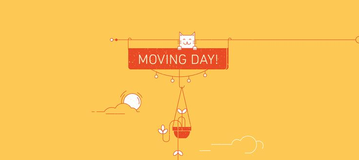 MOVING DAY! on Behance