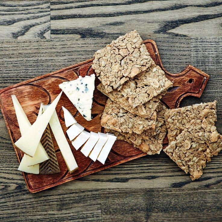 Suolapähkinänäkkileipä   K-ruoka #leipä