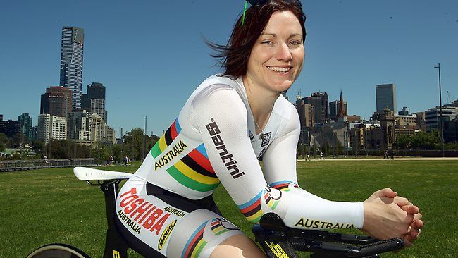 Anna Meares | Anna Meares pushing it to the limit