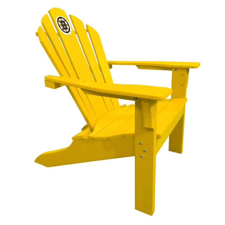 Boston Bruins Big Daddy Gold Composite Adirondack Deck Chair