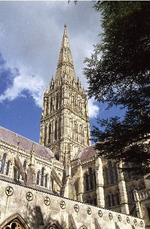 Salisbury Cathedral is beautiful inside and out. I enjoyed getting to seeing the best preserved Magna Cartas.
