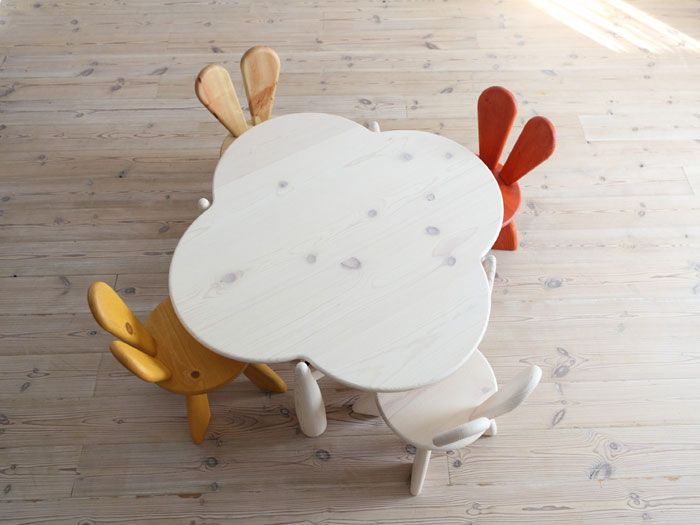 Ecological and Funny Furniture for Kids Bedroom by Hiromatsu | DigsDigs