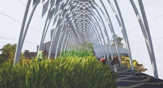 Bloomingdale Rail Greenhouse