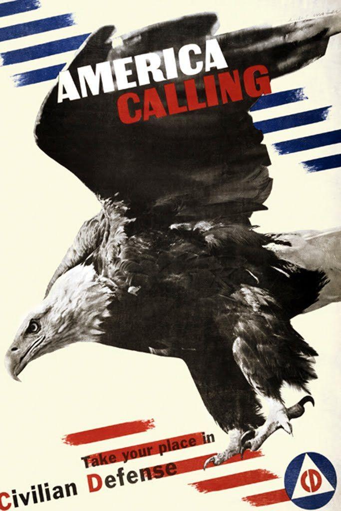 America Calling, by Herbert Matter
