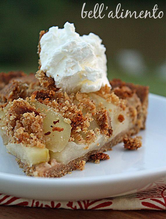apple torte with breadcrumb hazelnut crust apple torte with hazelnut ...