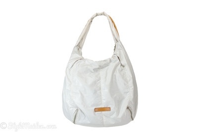 CHRISTOPHER KON Nylon Leather Accents Hobo at http://stylemaiden.com