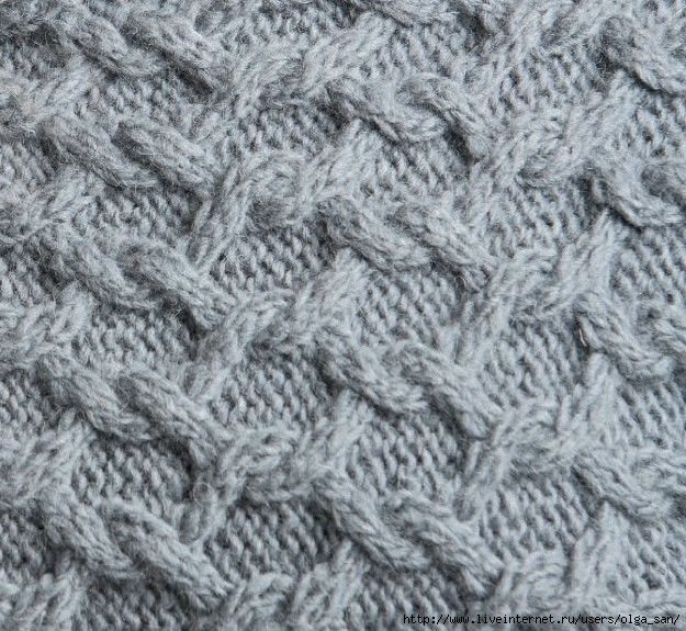 Knitting Stitches Knit One Below : 1749 best images about Cable, aran, brioche, fishermans rib, knit one be...