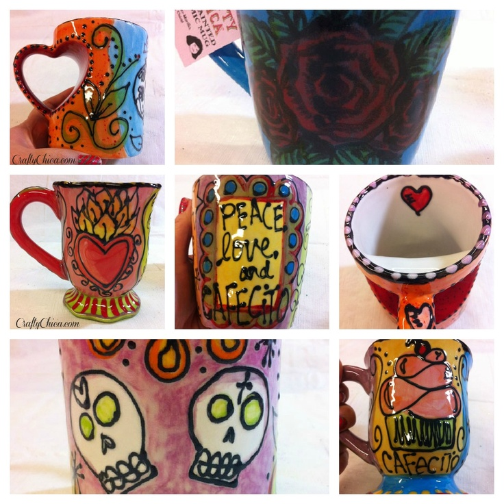 Diary of a Crafty Chica™: New Crafty Chica mugs for sale!