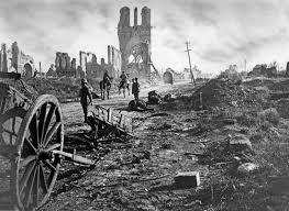 The Ruins of Ypres in Belgium - First World War. A Hand in God's Till: http://www.ahandingodstill.co.uk