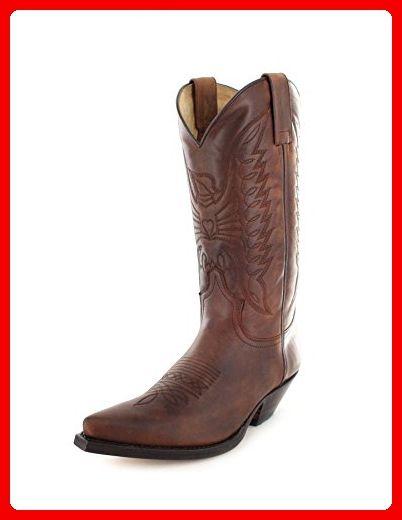 Sendra Boots 2073 Sprinter 7004/ Damen & Herren Cowboystiefel Braun/ Westernstiefel/ Cowboy Boots/ Brauner Stiefel, Groesse:39 - Stiefel für frauen (*Partner-Link)