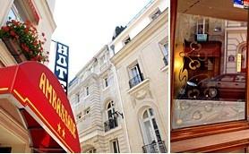 HOTEL AMBASSADEUR 3*Paris, Franta 31 Euro.