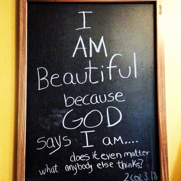 God Says Love: You Are Beautiful Because God Says You Are!