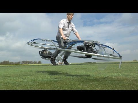 Mad genius Colin Furze builds a hoverbike. What could go wrong? - CNET