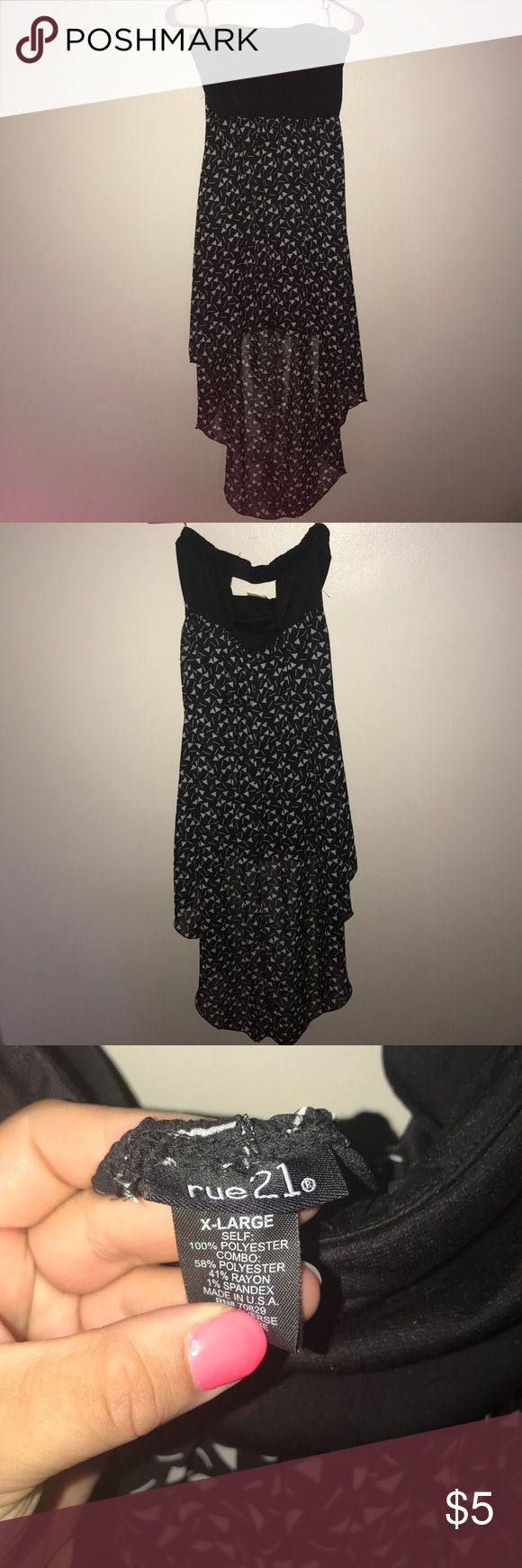 Black dress rue 21 $5 dresses