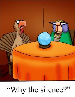 Thanksgiving Humor | From Rusty Hook Marketing on Google+.| #thanksgiving #thanksgivinghumor #turkeyday #humor