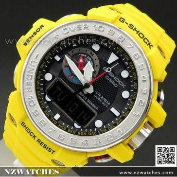 BUY Casio G-Shock GULFMASTER Ocean Concept Watch GWN-1000-9A, GWN1000B - Buy Watches Online | CASIO NZ Watches