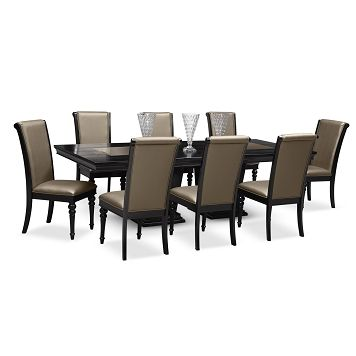 Paradiso dining room 9 pc dining room value city for H furniture facebook