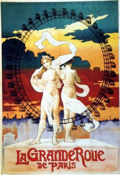 Le Grande Roue de Paris (Exposition Universelle Paris 1900)