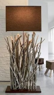 Artesanato: troncos, galhos e raízes | Artesanato Que Faz