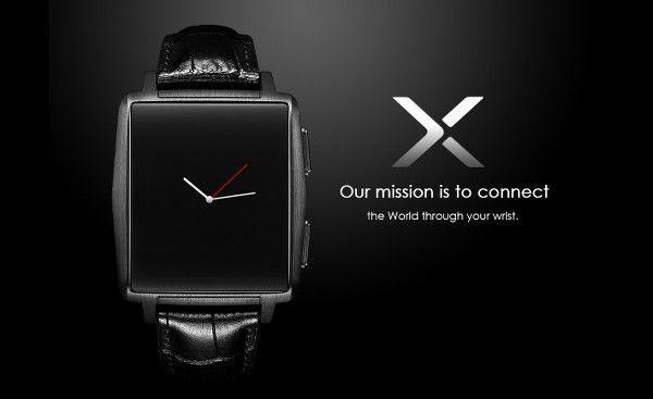 Omate X : une smartwatch chic pour concurrencer la montre connectée Pebble