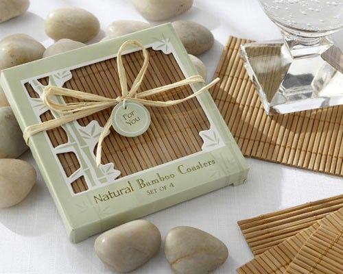 Natural #BambooCoaster #Wedding Favour!!