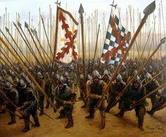 Tercio español. En su epoca la mejor y mas temida unidad de combate del mundo conocido.