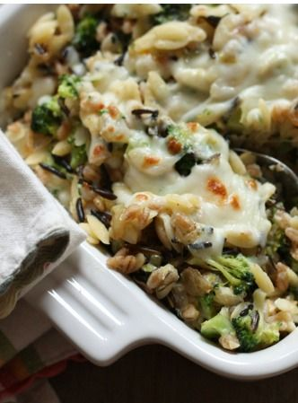 13 ways to eat brown rice! Includes this delicious broccoli-rice bake and many other tastey options!