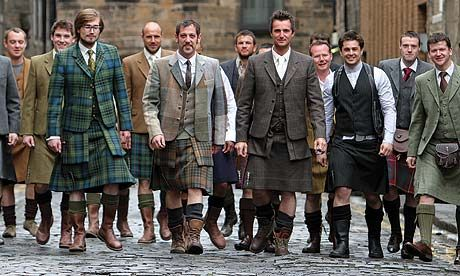 Love a man in a kilt -- 21st Century Kilts  Edinburgh